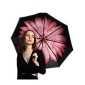 BANANA UNDER 蕉下 香港 防晒防紫外线双层小黑伞系列 浅妃 1把