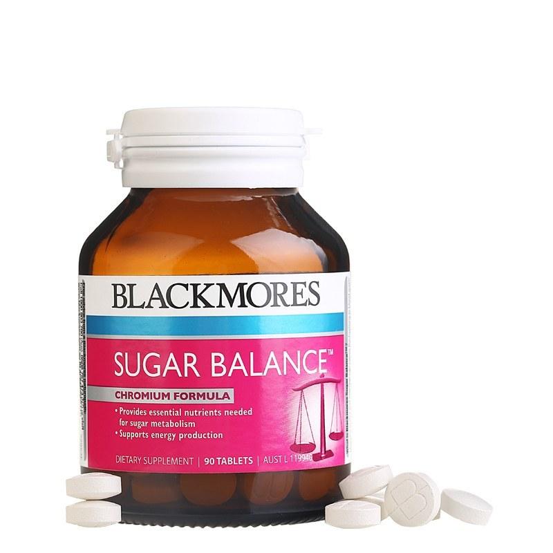 【香港直邮】Blackmores 澳佳宝 澳大利亚 血糖平衡配方 90粒