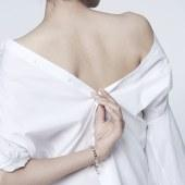 壹禾 /iAu 花枝春满手链 18K金925银气质浪漫女款手环