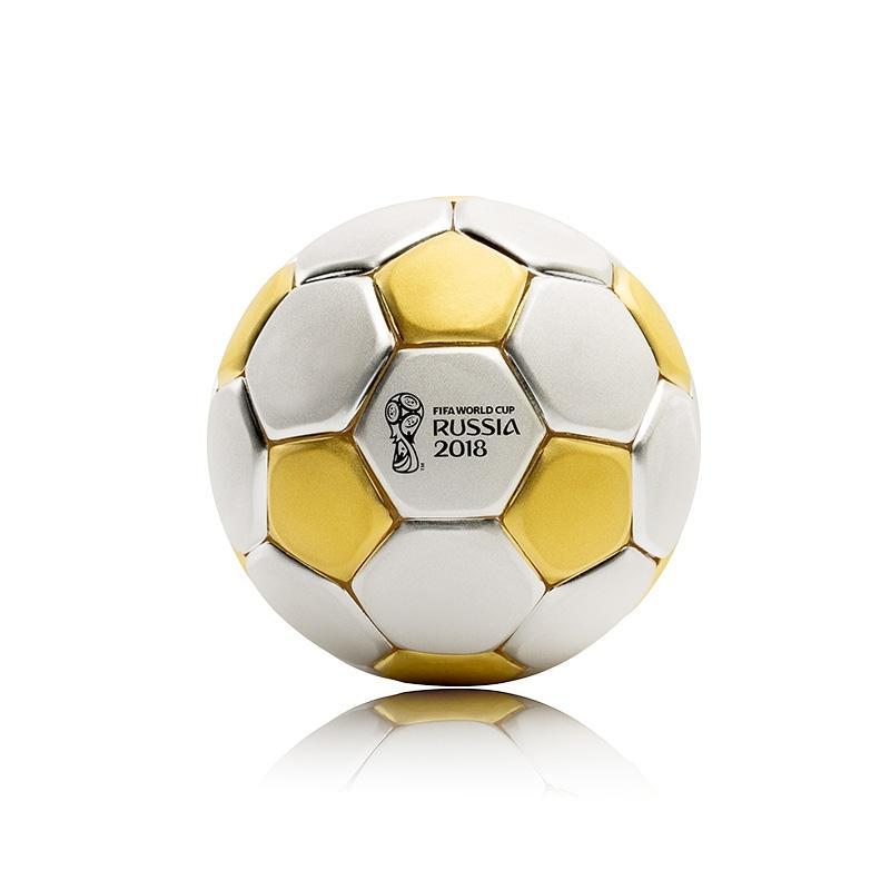 2018年FIFA俄罗斯世界杯官方授权产品金银足球