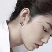 壹禾 /iAu 梅影香尘耳饰 925银气质花型耳环 均码