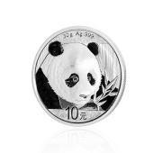 2018年熊猫币纪念银币直径40mm 009JB000013 30g