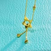 星光之恋个性流苏女士可延长足金套链项链 约7.2g
