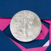2018年1盎司美国鹰扬银币
