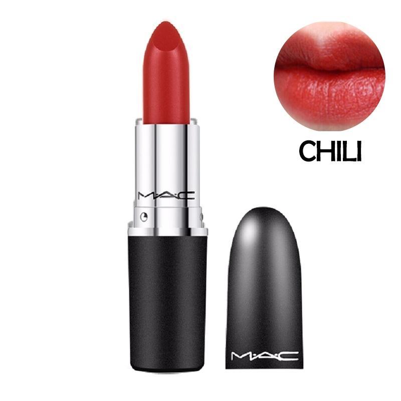【香港直邮】MAC 魅可 美国 子弹头口红Chili(砖红色) 限量热门色号 3g