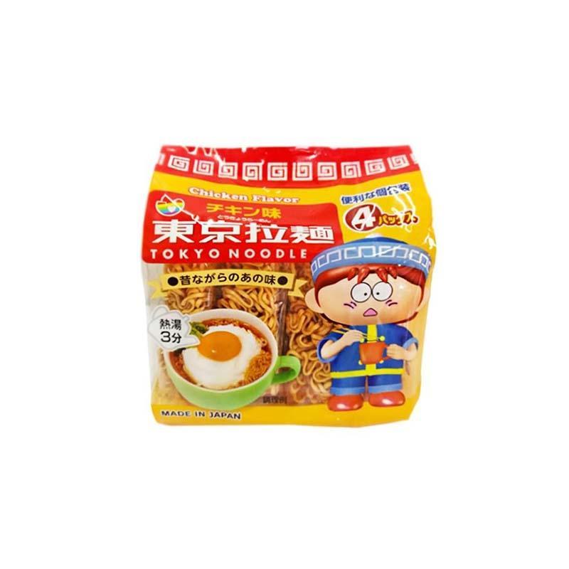 【一般贸易】东京拉面 日本 鸡汤味即使方便面 (30g*4) 2件装