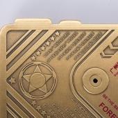 中超CSL联赛官方授权指定产品 广州恒大淘宝 荣耀时刻铜镶银 纪念铜条