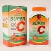 【国内发货】SUPER C 泰国维生素C VC 防疫 抵抗力 免疫力 1000粒