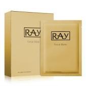 【香港直邮】RAY 泰国 金色修复痘印提拉紧致面膜 10片