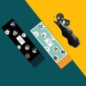 【独家定制】  POPICKER   晴雨两用黑胶伞  轻便小巧 可以随身携带