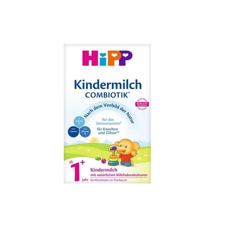 【保税区】HIPP 喜宝 德国 益生菌奶粉 1+段 1岁以上 600G