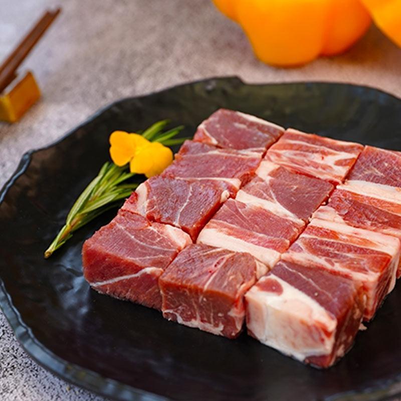 【边塞风甄选】盐池滩羊 带骨肉块 450g*3袋