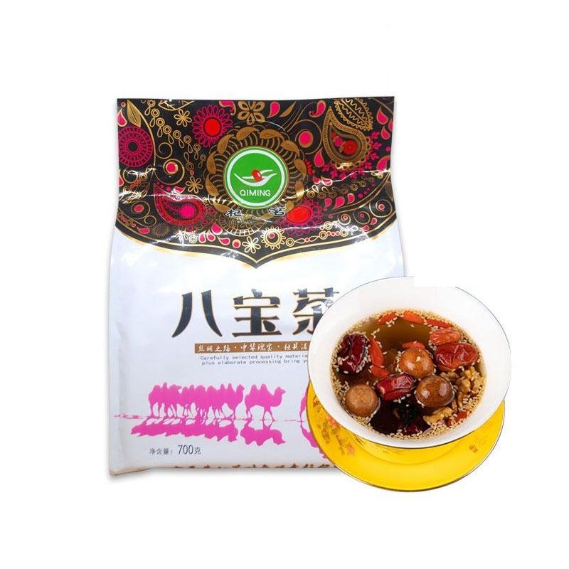 杞茗 宁夏玫瑰八宝茶 700g/袋 优质原料 茶香浓郁